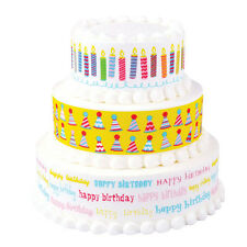 BIRTHDAY BLOWOUT Variety Designer Prints Edible Image Decoration by Lucks