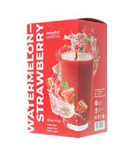 Smoothie Watermelon-strawberry.Smoothie silhouette.remove excess fluid.