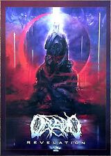OCEANO Revelation 2017 Ltd Ed HUGE RARE Poster +FREE Metal Rock Hardcore Poster!