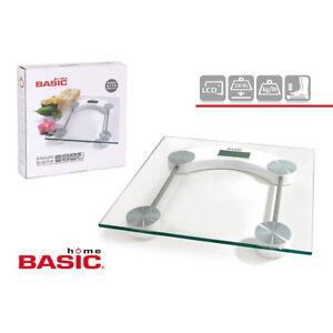 Basic Home Elektronische Personenwaage, LCD Display