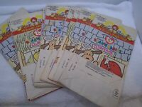 Vintage McDonald's Happy Meal Teenie Beanie Baby Paper Bags March 1998 Lot of 14