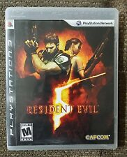 Resident Evil 5 (Sony PlayStation 3, 2009) PS3