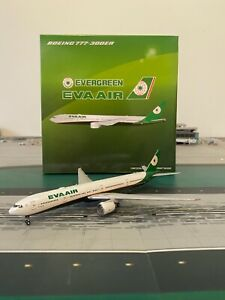 RARE Eva Air B777-300ER JC Wings 1:400