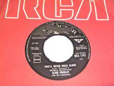 "7"" - Elvis Presley We call on him & You´ll never walk alone - UK 1968 # 6623"