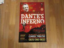 Arthur Smith in DANTES Inferno 2004 Original COMEDY Theatre Poster
