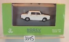 Norev 1/87 Nr. 512780 Renault 8 Limousine weiß OVP #3315