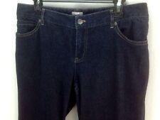 """J Jill Jeans 10 Dark Blue 34"""" x 32"""" Straight Leg"""