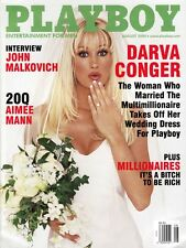 Playboy Magazine - August 2000 Issue - Darva Conger Cover