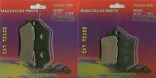 Praga Disc Brake Pads ED250 1999 Front & Rear (2 sets)