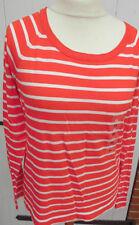 Shirt - Pullover - Marc O`Polo - Gr. 42 - 44 XL - rot-weiß Streifen - Neuware