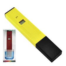 Medidor de PH digital del bolsillo del probador Acuario Agua Pen LCD monitor