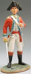 KING & COUNTRY BRITISH REVOLUTIONARY BR003 FUSILIER OFFICER WITH SWORD MIB