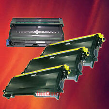 Toner Cartridge TN-350 & Drum DR-350 for Brother 4 Pack
