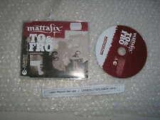 CD Pop Mattafix - To & Fro (3 Song) Promo EMI BUDDHIST PUNK