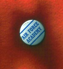 "AIR FORCE ACADEMY BUTTON-PIN 1 1/4"" vintage"