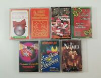 Christmas Cassette Lot of 7 Titles SEE DESCRIPTION FOR TITLES