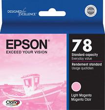 New Genuine Epson 78 Light Magenta Bag Ink Cartridge Stylus Photo R260