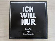 CD / PHILIPP POISEL--ICH WILL NUR  /  PROMO    / RARITÄT /