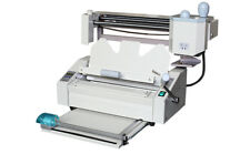 Desktop Perfect Binding Machine With Creaser,Perforator,Spliter,320mmx280mm