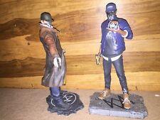 "Watch dogs 1 & 2 statue figure figurine 7"" collectors edition"