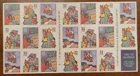 SCOTT #3116a...CHRISTMAS-FAMILY SCENES...BOOKLET...PANE OF 20 (32c) STAMPS...MNH