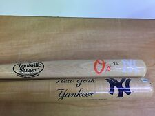 "2 NEW YORK YANKEES 18"" MINI LOUISVILLE SLUGGER SOUVENIR BASEBALL BAT"