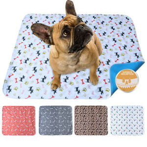 Dog Pee Pads Washable Reusable Waterproof Absorbent Easy Cleanup Protects Floors