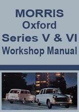 MORRIS OXFORD Series V & VI WORKSHOP MANUAL