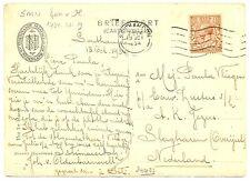 NEDERLAND-S.M.N. 1934 =JOHAN VAN OLDENBARNEVELT = PCC SHIP =FROM ENGLAND   FINE