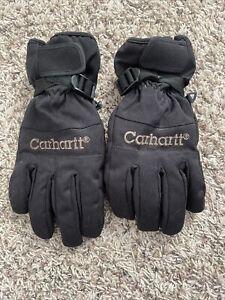 Carhartt Nylon 3M Thinsulate Insulated Medium Black Gloves