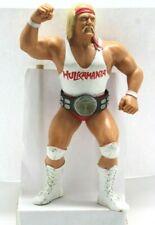 Vintage WWF Superstars WHITE SHIRT HULK HOGAN - Figure LJN 80's Rubber Wrestler