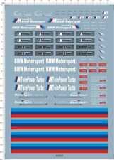 1/18 decals for bmw m7 trd motor sport 63622