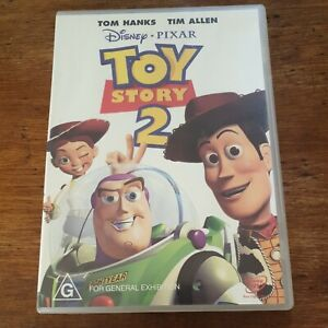 Toy Story 2 DVD R4 Like New! FREE POST
