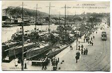 CPA - Carte Postale - France - Cherbourg - Le Quai Alexandre III et le Bassin du