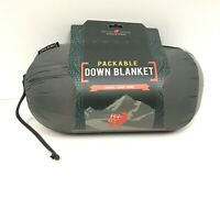 Grand Trunk Packable DOWN Blanket Lightweight Warm 76x40 Travel Camp Hike $99