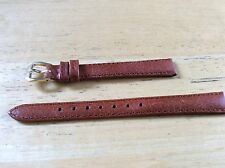 KREISLER WATCH BAND BRACELET Genuine Leather - 12mm Honey Brown 210303L-12 Long