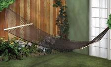 """10015980 """"outdoor living"""" (black) espresso two-person hammock"""