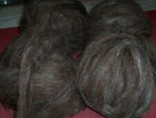 8 ounces Romney / Leicester Wool Roving