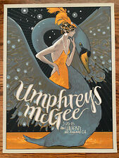 Umphreys Mcgee Poster Print The Wiltern Los Angeles Grateful Signed Rich Kelly