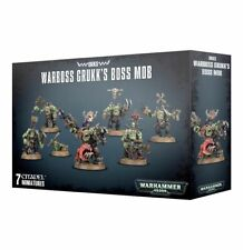 Orks Ork Warboss Grukk's Boss Mob Warhammer 40k Games Workshop 20%25 off UK rrp