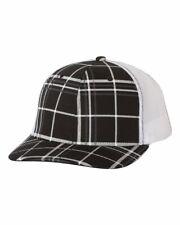 c3fb7a08 Richardson Patterned Snapback Trucker Cap Mesh Hat Baseball Summer Fashion  112P