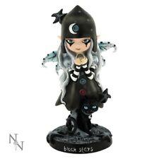 Black Stars Fairy Figurine