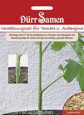 Veredelungsset für Tomaten und Auberginen 6 Korn Spirit F1 mit Clips Dürr Samen