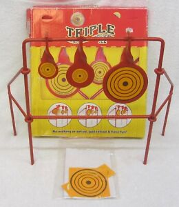 Do-All Outdoors TRIPLE SPINNING TARGET Spinner Rifle Pistol Shooting RESETS NOS
