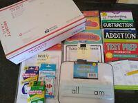 Second Grade: Homeschool Curriculum Box : Math, Grammar (ELA), & Reading