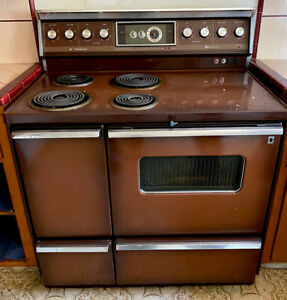 vintage hotpoint electric stove