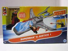 Mattel DC Justice League Action Superman & Justice 1 Vehicle NEW