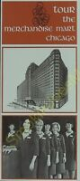 Vintage Travel Brochure Tour the Merchandise Mart Chicago Mint Condition