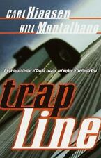 Trap Line by Carl Hiaasen Bill Montalbano Paperback Book NICE