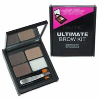 Technic Ultimate Brow Kit,Tweezers & Brush Powders, Wax, Eyebrow Makeup Set